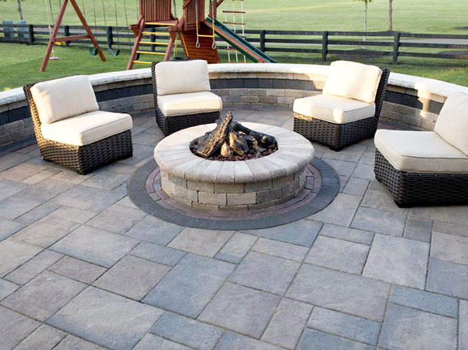 Paver Stone Firepits | Westerville & Columbus, Ohio ...